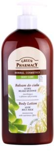 Green Pharmacy Body Care Aloe & Rice Milk Hydraterende Bodylotion met Voedende Werking