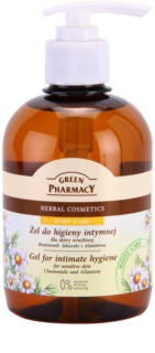 Green Pharmacy Body Care Chamomile & Allantoin gel de higiene íntima para pieles sensibles