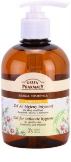 Green Pharmacy Body Care Chamomile & Allantoin гел за интимна хигиена за чувствителна кожа