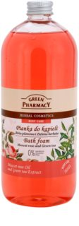 Green Pharmacy Body Care Muscat Rose & Green Tea Bath Foam