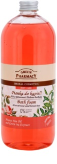 Green Pharmacy Body Care Muscat Rose & Green Tea пінка для ванни