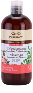 Green Pharmacy Body Care Muscat Rose & Green Tea gel de ducha