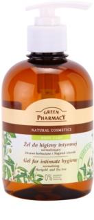 Green Pharmacy Body Care Marigold & Tea Tree гел за интимна хигиена