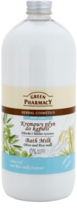 Green Pharmacy Body Care Olive & Rice Milk leche de baño