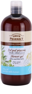 Green Pharmacy Body Care Olive & Rice Milk gel de douche