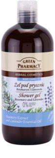 Green Pharmacy Body Care Rosemary & Lavender gel de ducha