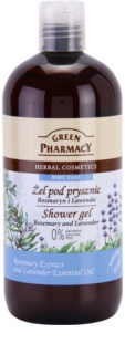 Green Pharmacy Body Care Rosemary & Lavender tusfürdő gél