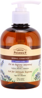 Green Pharmacy Body Care Sage & Allantoin gel apaziguador para higiene íntima