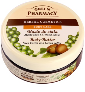 Green Pharmacy Body Care Shea Butter & Green Coffee testvaj