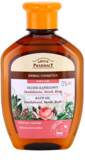 Green Pharmacy Body Care Sandalwood & Neroli & Rose óleo de banho