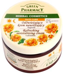 Green Pharmacy Face Care Calendula Verfrissende Hydraterende Crème  voor Gedehydrateerde Droge Huid