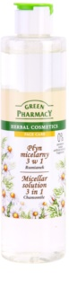 Green Pharmacy Face Care Chamomile agua micelar 3 en 1
