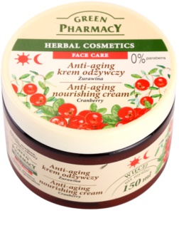 Green Pharmacy Face Care Cranberry crema nutriente anti-age