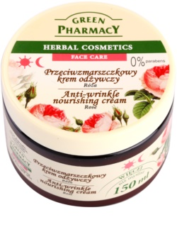 Green Pharmacy Face Care Rose hranilna krema proti gubam