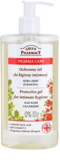 Green Pharmacy Pharma Care Oak Bark Cranberry защитен гел за интимна хигиена