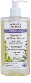 Green Pharmacy Pharma Care Oak Bark Sage nyugtató gél intim higiéniára