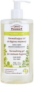 Green Pharmacy Pharma Care Oak Bark Tea Tree Gel für die intime Hygiene