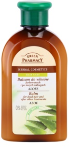 Green Pharmacy Hair Care Aloe Balm for Dyed Hair and after Other Treatments