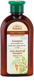 Green Pharmacy Hair Care Birch Tar & Zinc korpásodás elleni sampon