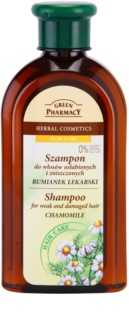 Green Pharmacy Hair Care Chamomile Sampon pentru par deteriorat si slab