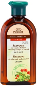 Green Pharmacy Hair Care Ginseng šampon za masno vlasište i suhe vrhove