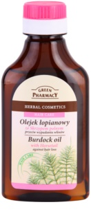 Green Pharmacy Hair Care Horsetail aceite de bardana anticaída del cabello