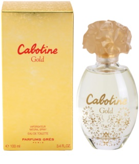 Gres Cabotine Gold Eau de Toilette para mulheres 100 ml