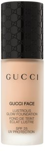 Gucci Face Lustrous Glow Foundation Make up zum Aufhellen der Haut SPF 25