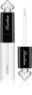 Guerlain La Petite Robe Noire brillo de labios transparente