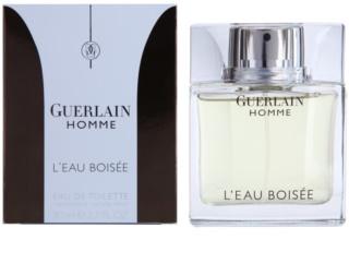 Guerlain Homme L´Eau Boisée Eau de Toilette pentru barbati 80 ml