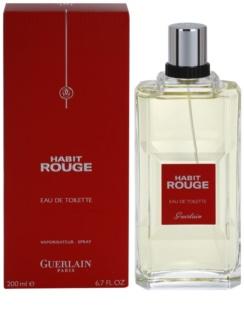 Guerlain Habit Rouge eau de toilette férfiaknak 200 ml