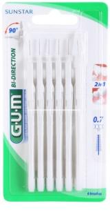 G.U.M Bi Direction szczoteczki międzyzębowe 6 szt.