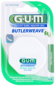 G.U.M Butlerweave Waxed Dental Floss with Mint Flavor