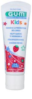 G.U.M Kids гел за зъби за деца с аромат на ягода