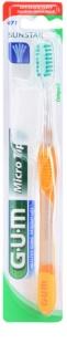 G.U.M Micro Tip Compact Tandenborstel  Soft