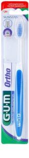 G.U.M Ortho 124 fogkefe fogszabályzóval rendelkezőknek gyenge