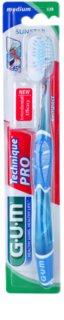 G.U.M Technique PRO Compact зубна щітка з футляром для подорожей середньої жорсткості