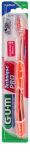 G.U.M Technique PRO Compact Toothbrush with Travel Cover Medium