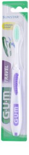 G.U.M Travel дорожній варіант зубної щітки м'яка