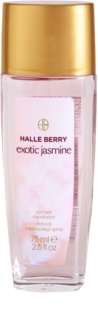 Halle Berry Exotic Jasmine Deo met verstuiver voor Vrouwen  75 ml