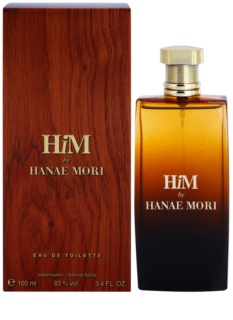 Hanae Mori HiM Eau de Toilette for Men 100 ml
