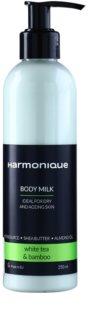 Harmonique White Tea & Bamboo testápoló tej a bőr öregedése ellen