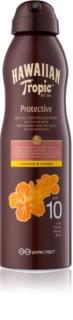 Hawaiian Tropic Protective суха олійка для засмаги у формі спрею SPF 10