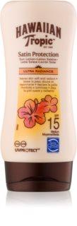 Hawaiian Tropic Satin Protection водостійке молочко для засмаги SPF 15