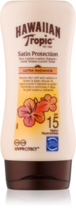 Hawaiian Tropic Satin Protection lait solaire waterproof SPF 15
