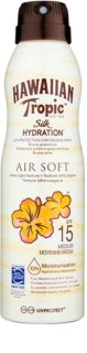 Hawaiian Tropic Silk Hydration Air Soft sprej na opalování SPF 15