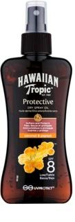 Hawaiian Tropic Protective водостійка захисна суха олійка для засмаги SPF 8