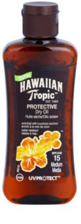 Hawaiian Tropic Protective Waterproof Sun Protection Dry Oil SPF 15