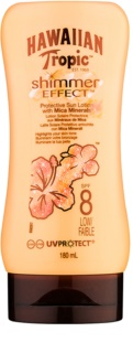 Hawaiian Tropic Shimmer Effect mleczko do opalania SPF 8