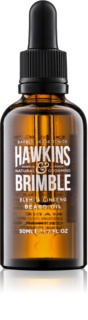Hawkins & Brimble Natural Grooming Elemi & Ginseng hranilno olje za brado in brke